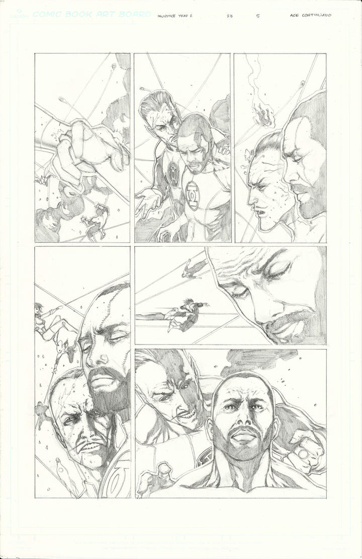 Injustice Sample pg 4 by Ace-Continuado