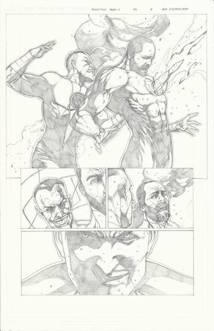 Injustice Sample pg 5 by Ace-Continuado