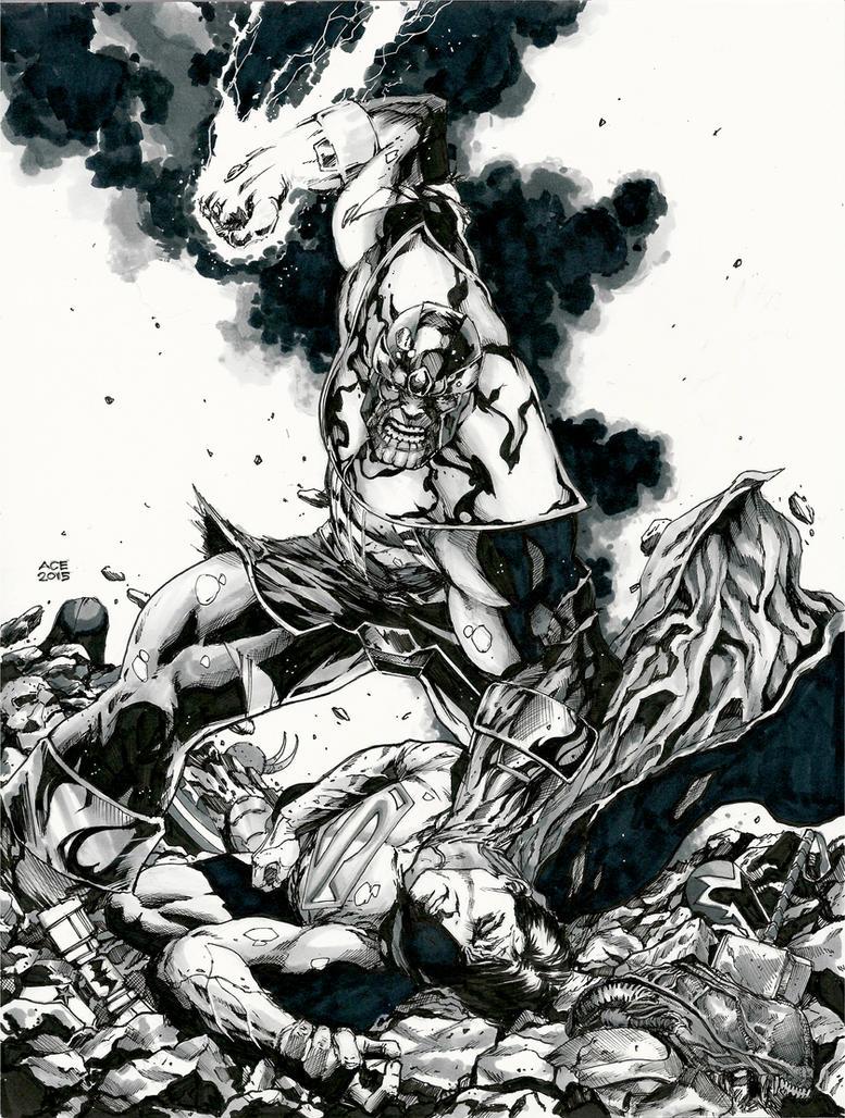 Thanos: Rage of the Titan by Ace-Continuado
