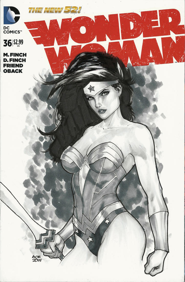 Wonder Woman NYCC 2015 by Ace-Continuado