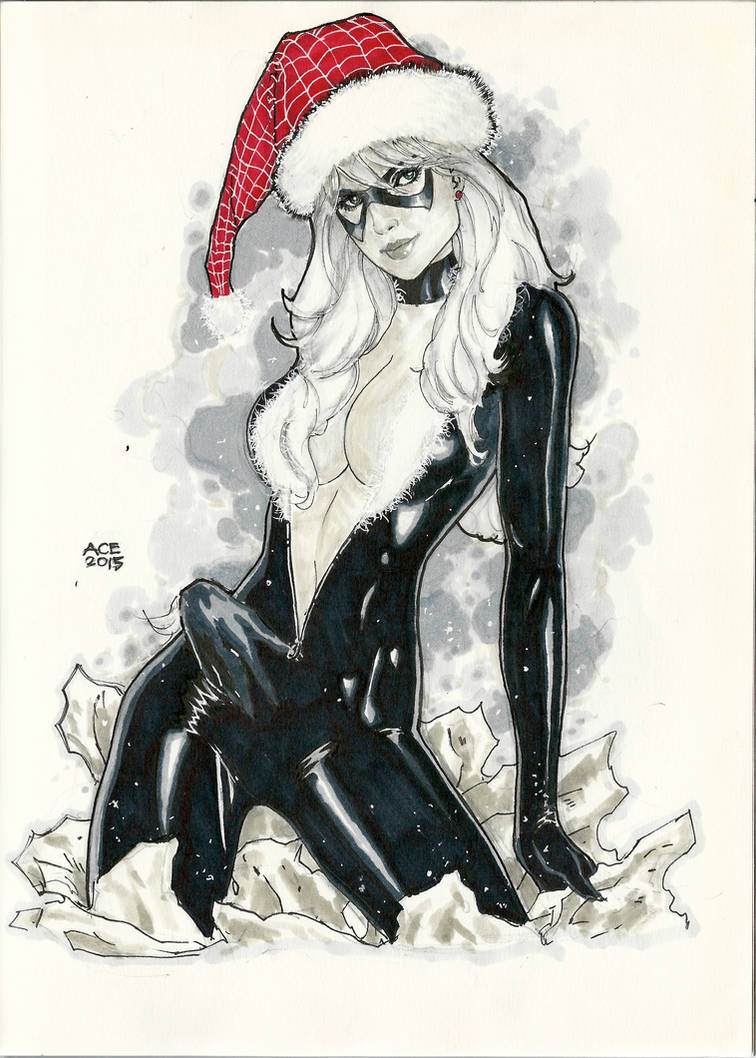 A Black Cat kind of Christmas by Ace-Continuado