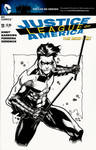 Nightwing sketch cover
