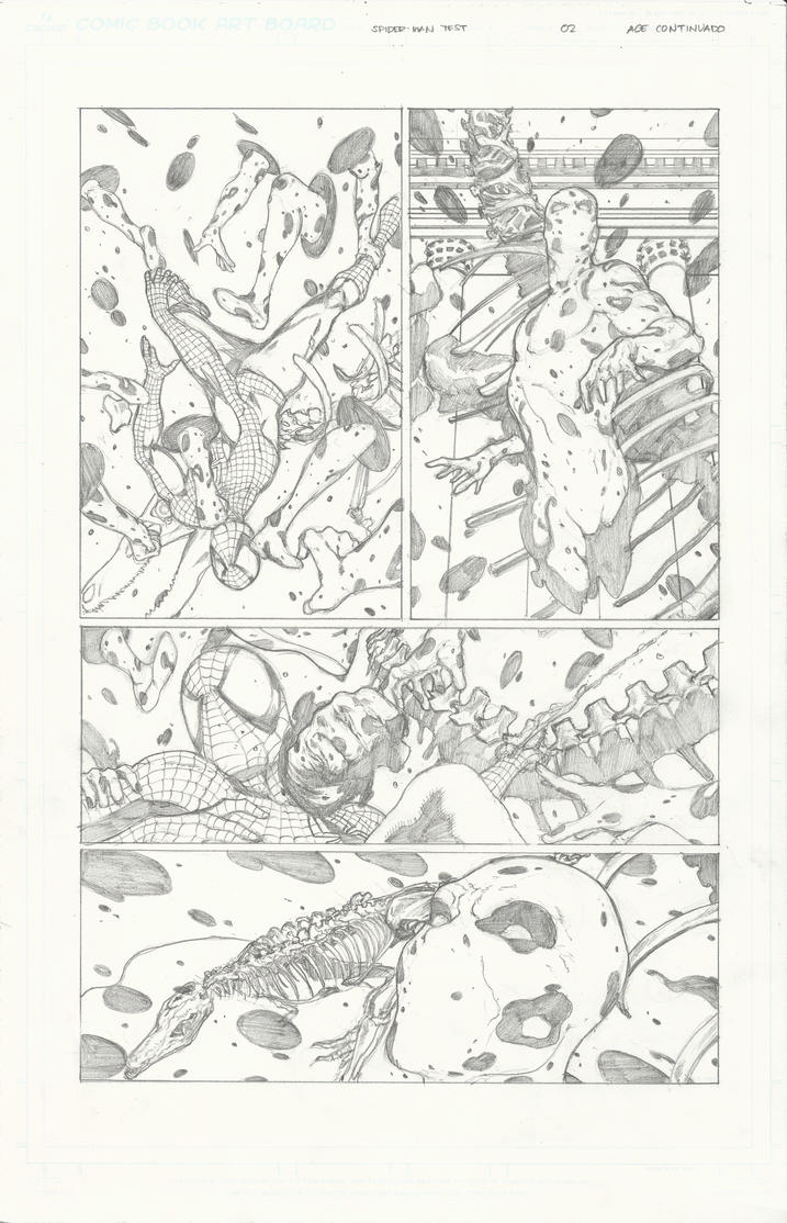 Spider-man sample page 2 by Ace-Continuado