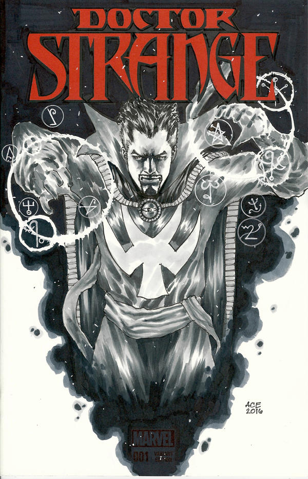 Doctor Strange commission by Ace-Continuado