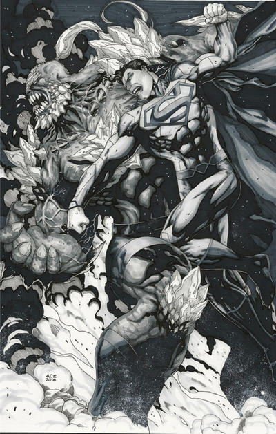 Superman vs Doomsday Copics by Ace-Continuado
