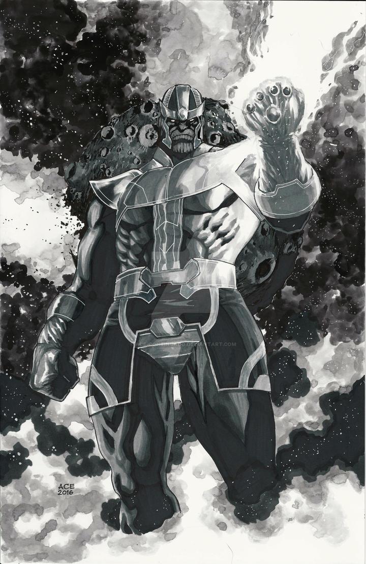 Thanos by Ace-Continuado