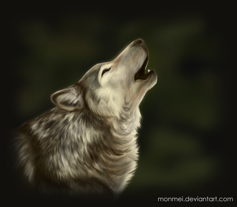 Howling Wolf Paint