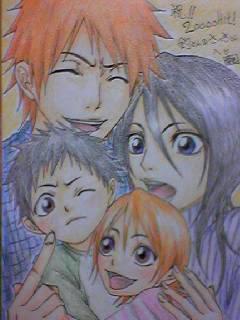 Ichigo and Rukia's family of 4 by ichigoandrukiaforeva on ...
