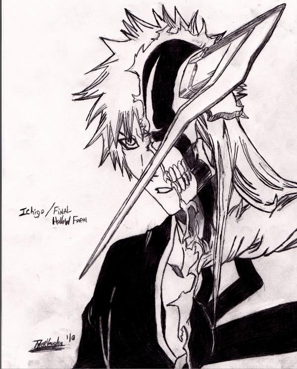 Ichigo and Final Hollow Form by Soki-n-Kat on DeviantArt