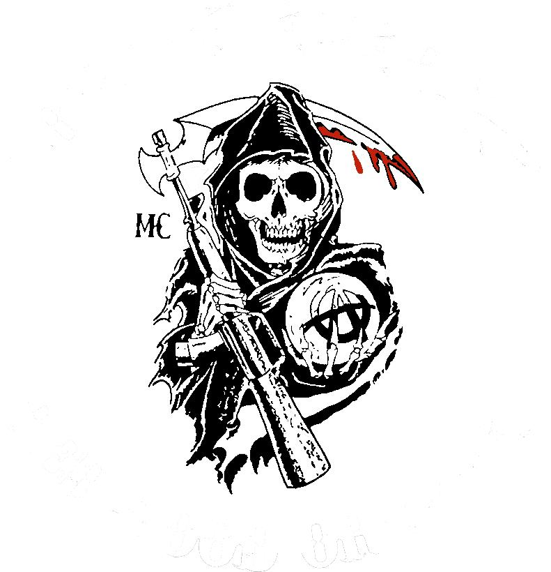 Sons of anacrchy tattoo by soki n kat on deviantart for Sons of anarchy tattoos