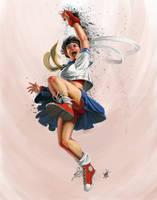 Shou'ou Ken by DanHowardArt