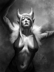 Commission: Yin by DanHowardArt