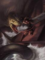 Ragnarok Awaits by DanHowardArt