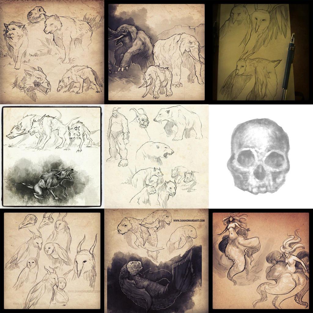 Instagram collection 2 by DanHowardArt