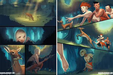 Tala pages by DanHowardArt