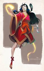 Priestess Mars by DanHowardArt