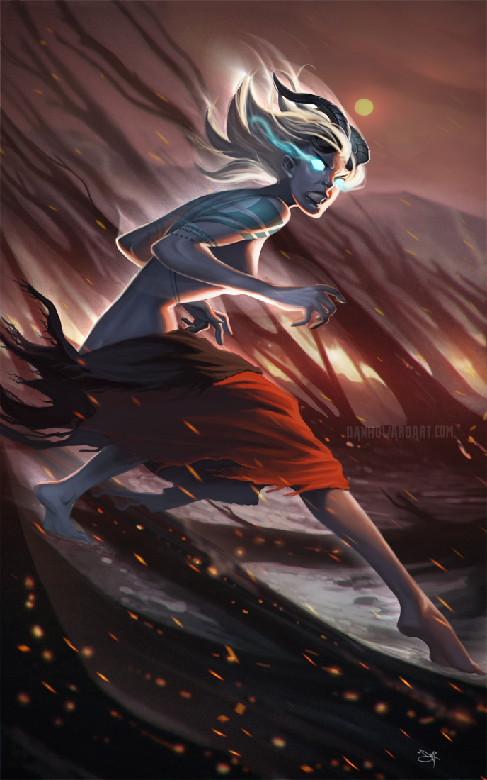 Firestorm by DanHowardArt