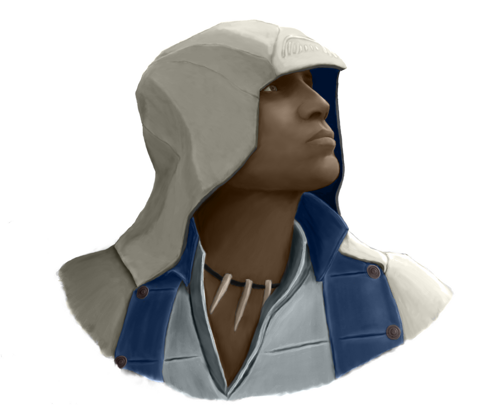 Connor Kenway (colour) by Alcarie