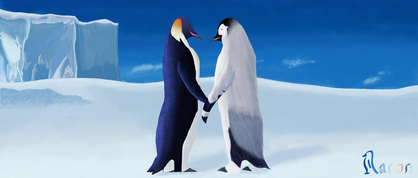 Happy feet 2 gloria and mumble