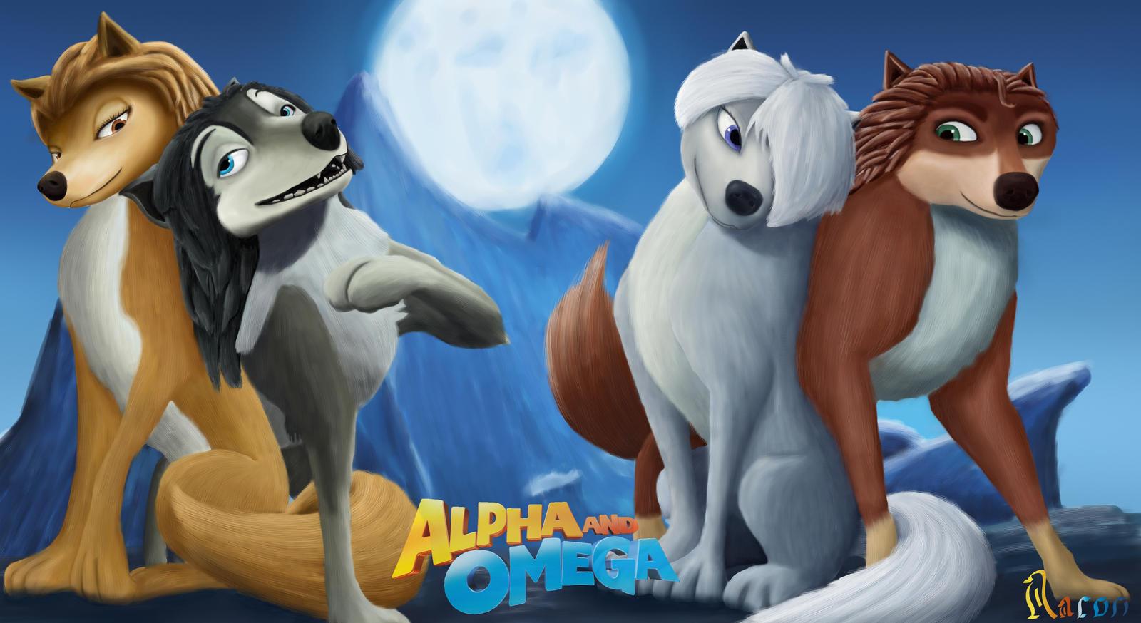 Alpha and Omega couples by Raynaron on DeviantArt