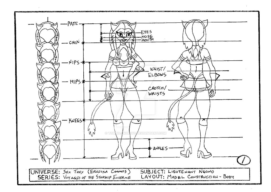 Lieutenant Ngono model construction - body by cmfatemi