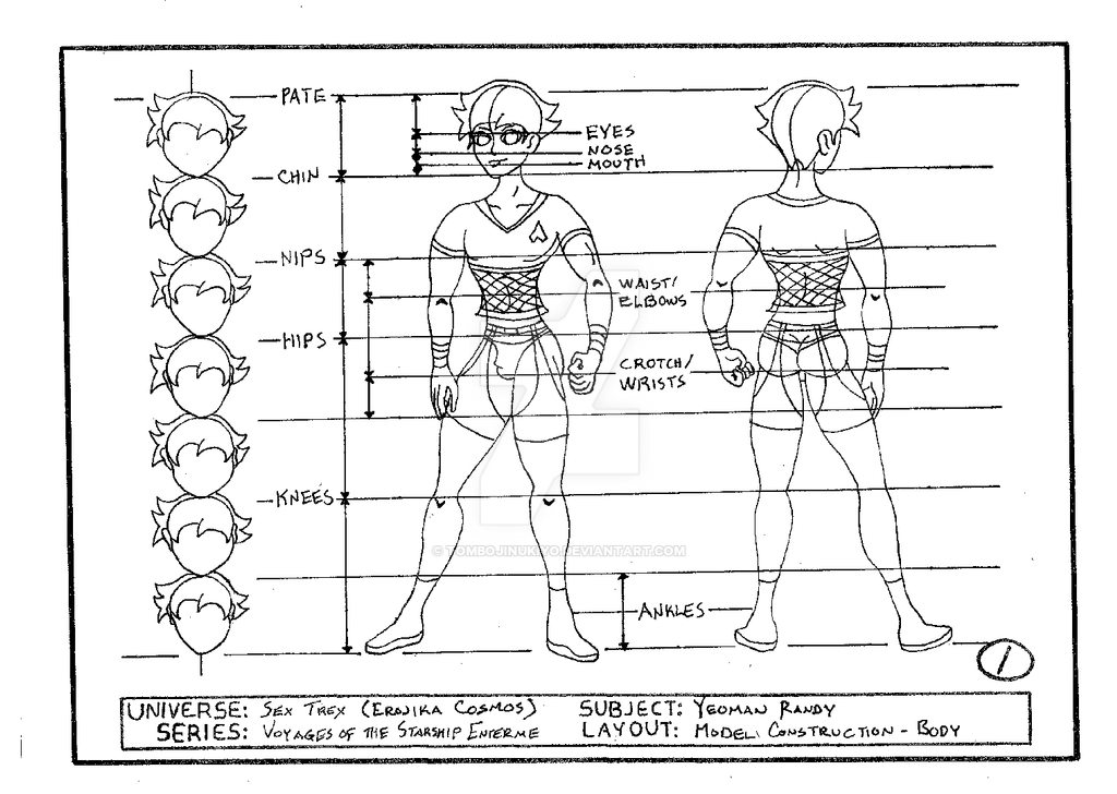 Yeoman Randy model construction - body by cmfatemi
