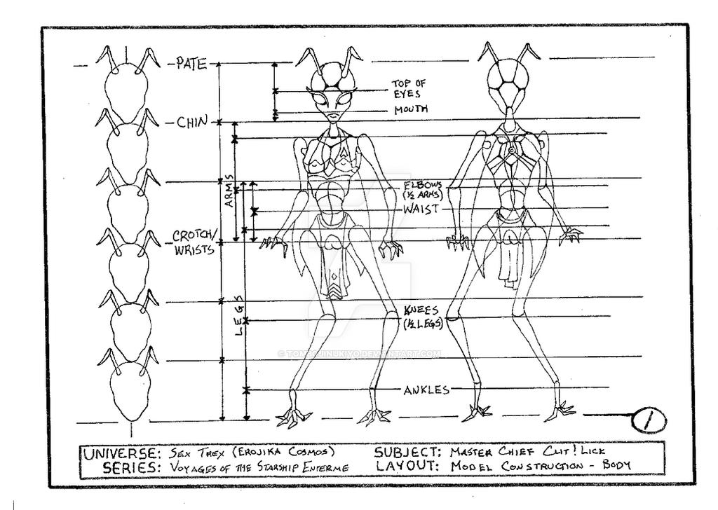Master Chief Clit!Lick model construction - body by cmfatemi