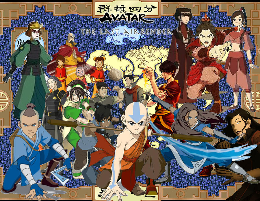 Avatar: The Last Airbender characters in The Legend of