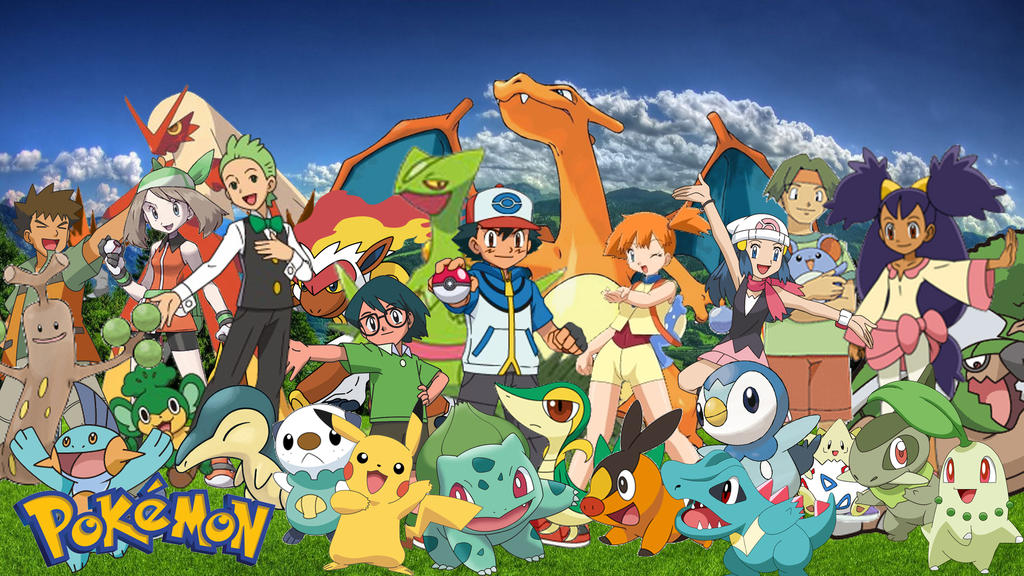 Ash pokemon team