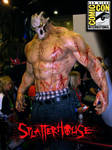 SPLATTERHOUSE Comic Con poster