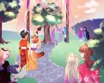 Aninktober Day 2_Festival by YuuiSama
