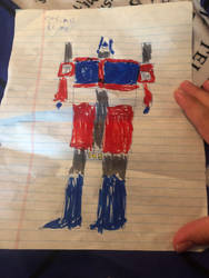 I Found A Childhood Drawing