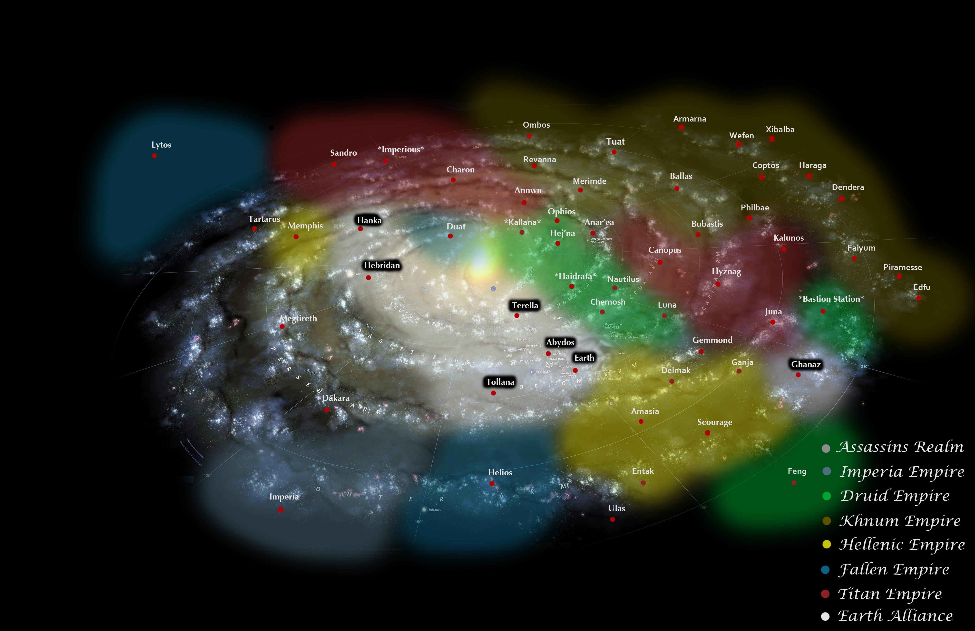 Stargate Universe Map by NaySmithe on DeviantArt