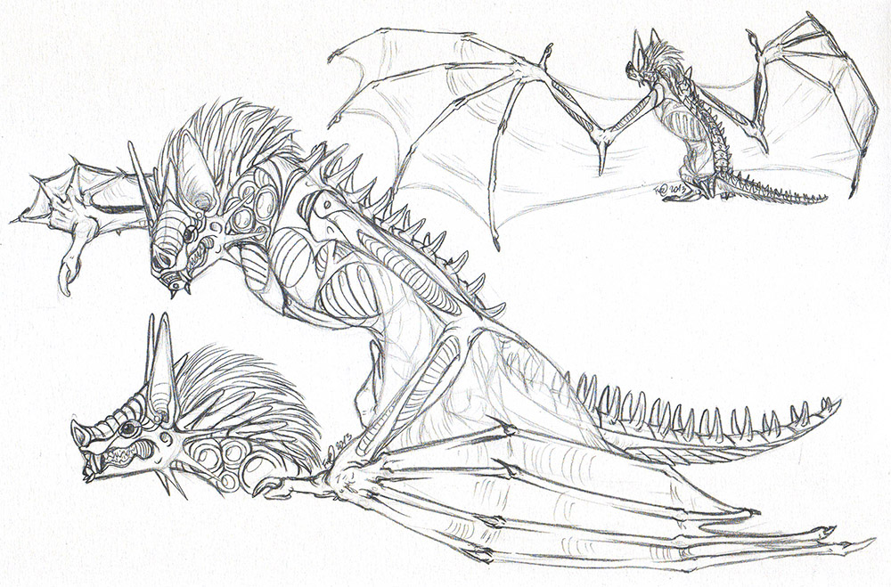 Bat Dragon by AFrozenHeart on ...