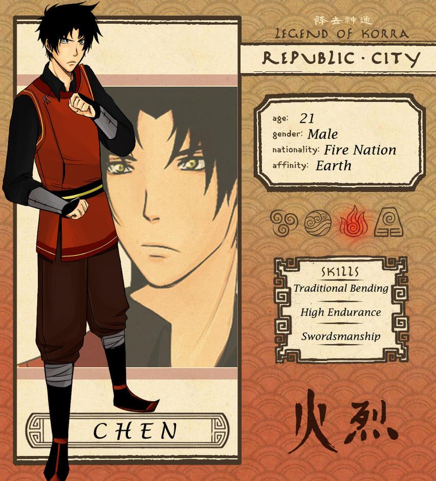Republic City: CHEN by SakariREN