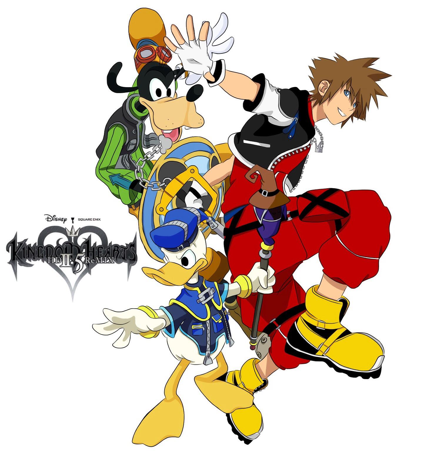 Kingdom Hearts 2.5 Fanart Colored by Ikuzram021 on DeviantArt