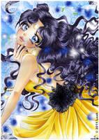 Sailor Moon Fanart Luna by Honey-san