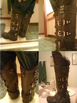 Ezio cosplay boots final