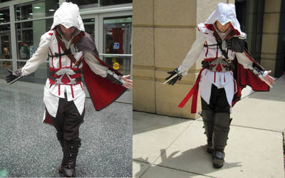 Side by Side Ezio costumes