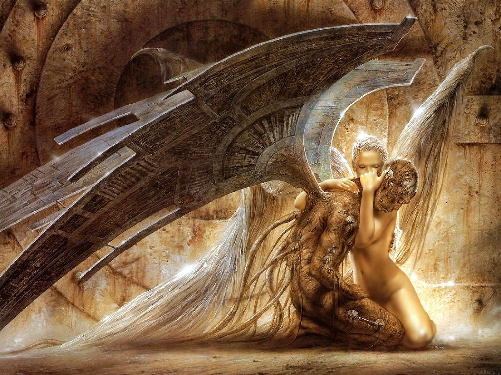 Luis Royo - Fallen Angel by yunuentmnt