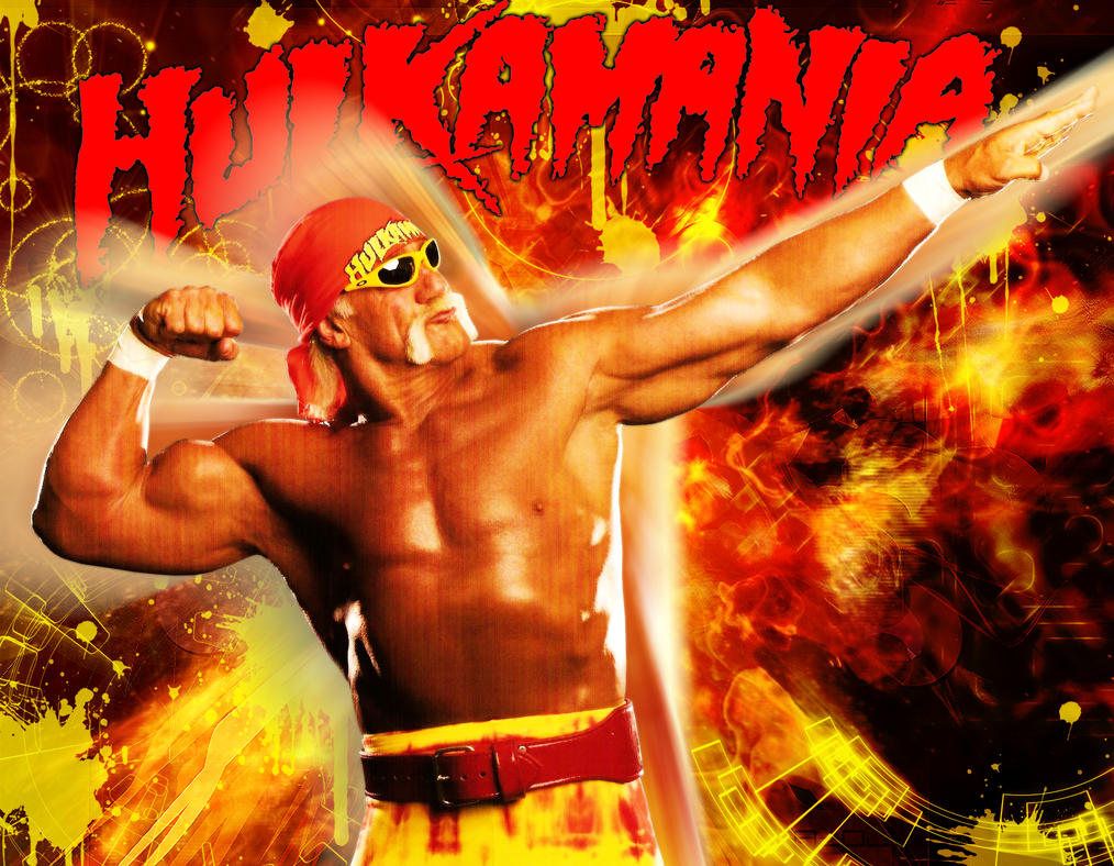 WWE Hulk Hogan Wallpaper by ~Marco8ynwa on deviantART