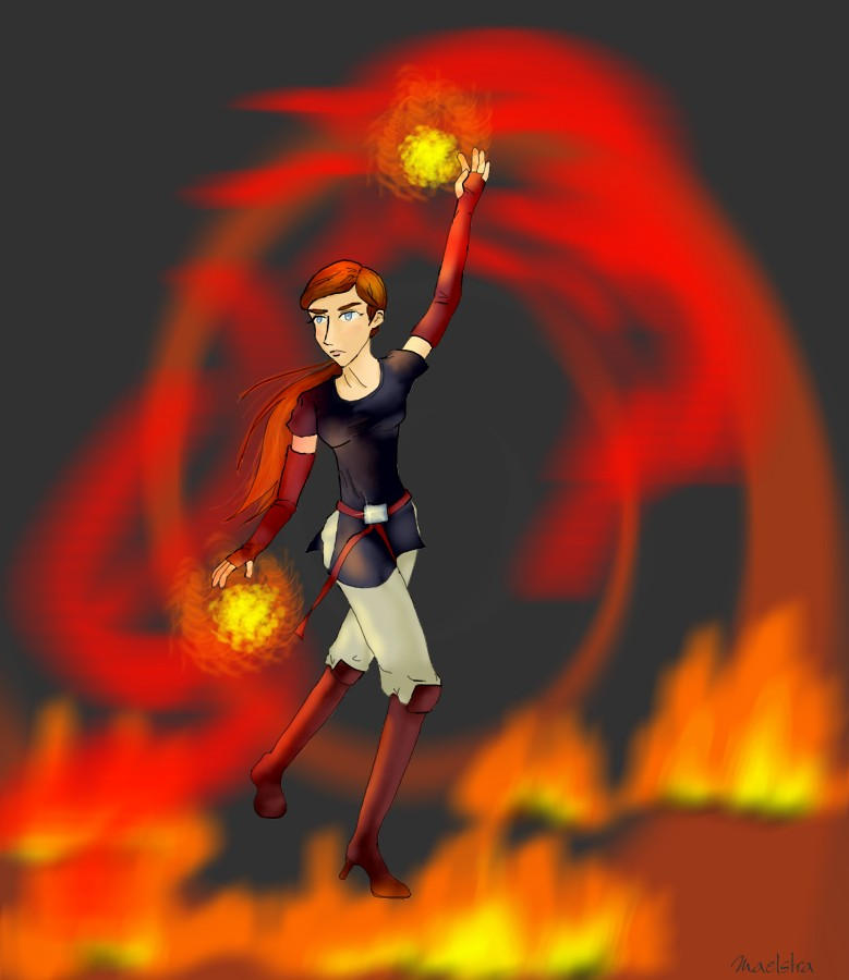 Sketch 004:  Conflagration