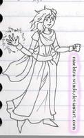 Rydia costume design 1