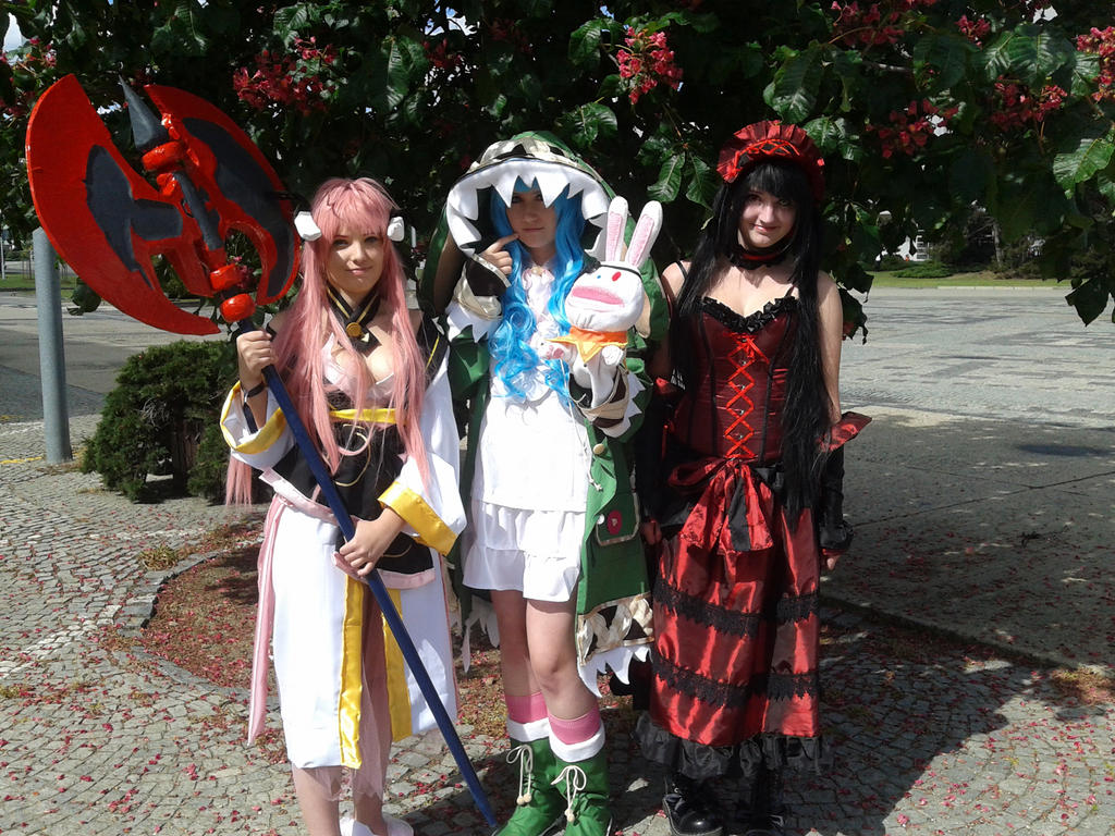 Date a Live trio by Mezushi-Cosplay on DeviantArt
