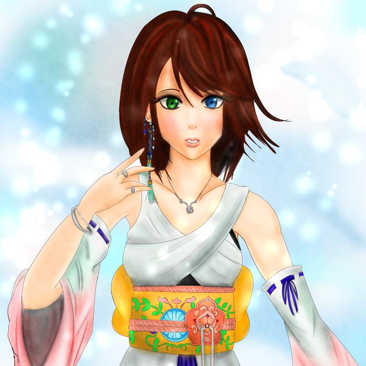 Yuna Final Fantasy X by June183 on DeviantArt