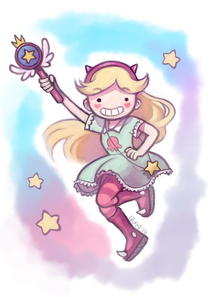Star Butterfly by meteoric-iron