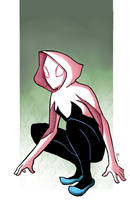 Spider- Gwen! by Marcos-A-Rodrigues