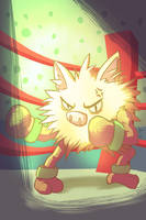 Primeape by Marcos-A-Rodrigues