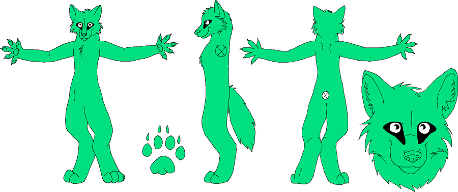 free fursuit design lineart mspaint fixed by ripple09 on deviantart. Black Bedroom Furniture Sets. Home Design Ideas