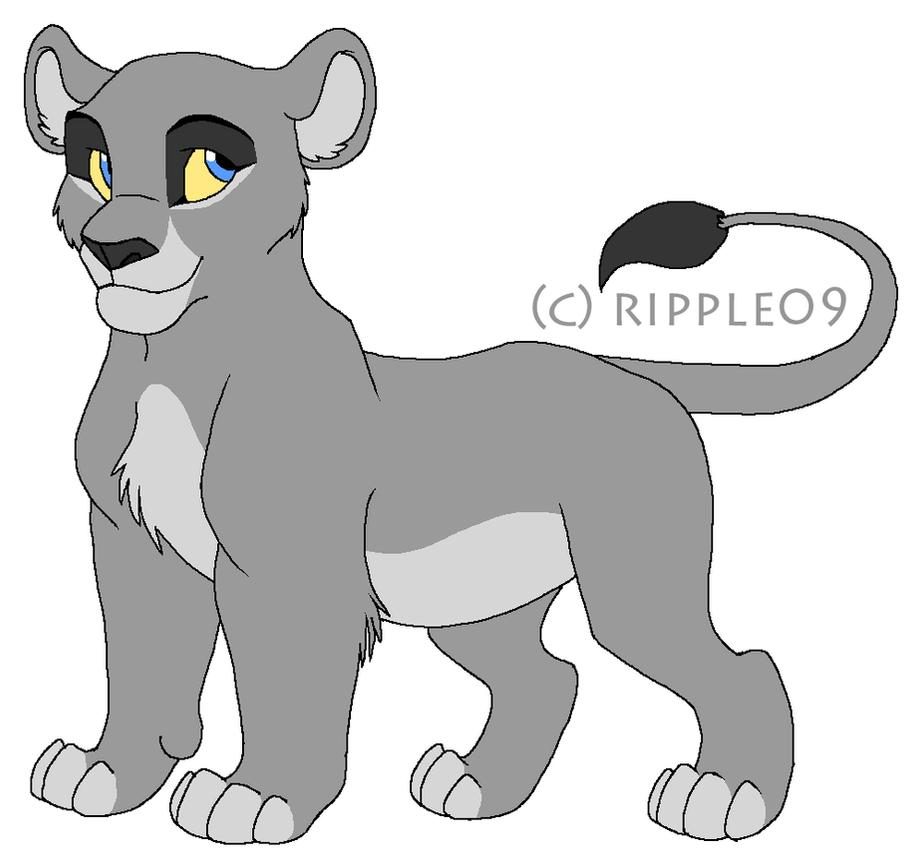 FREE Lion Cub Line Art By Ripple09 On DeviantArt